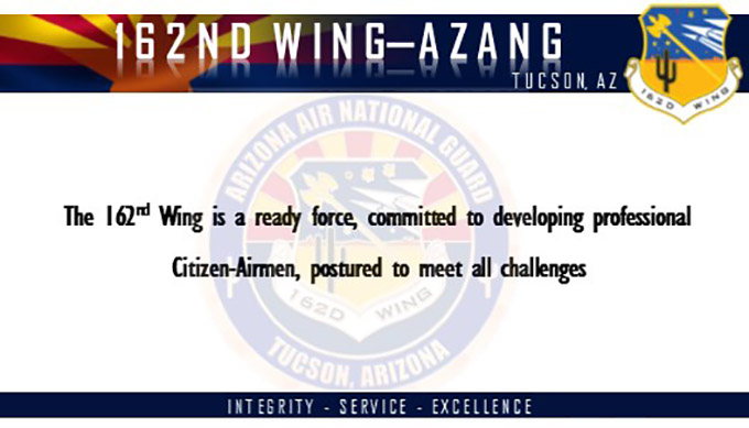 Longtime 162nd Wing Airman returns to Arizona as wing commander